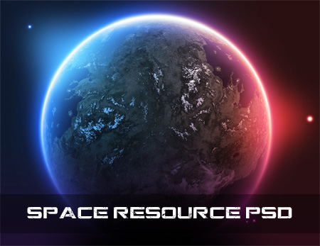 15 Space PSD Files Images