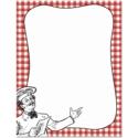 Pizza Border Paper