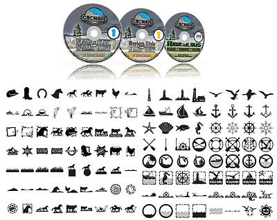 Plasma Cnc Vector Clip Art Collection