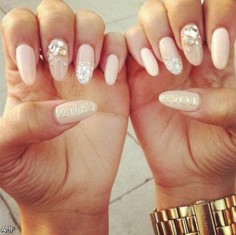 Pointy Acrylic Nail Designs 2015