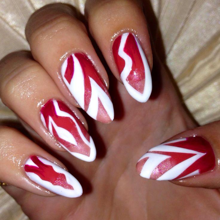 Pointy Nail Art
