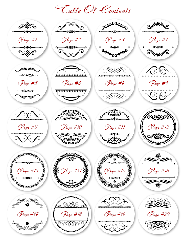 Printable Round Label Template