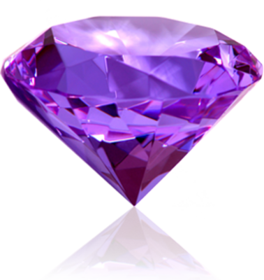 14 PSDs Purple Diamond Images
