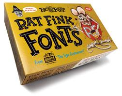 Rat Fink Hot Rod Clip Art