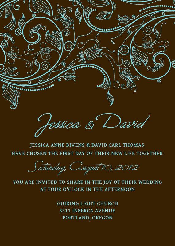 Red Wedding Invitation Templates