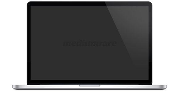 Retina MacBook Pro Mockup PSD