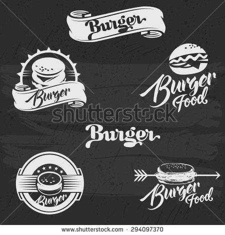 how to draw a burger with everything separated