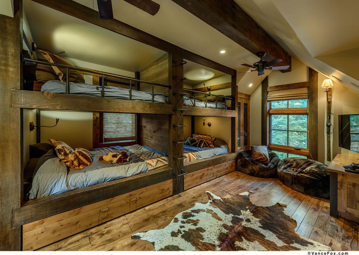 18 Rustic Cabin Interior Design Ideas Images - Rustic Log ...