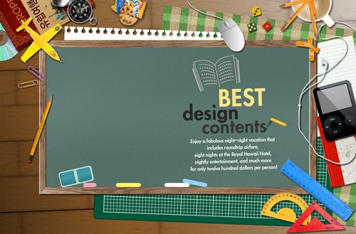 11 PSD Template School Photos Images