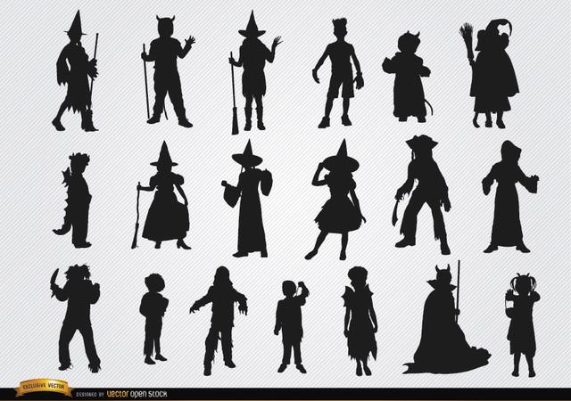 Silhouette Halloween Costume