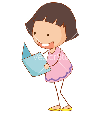 Simple Cartoon Girl