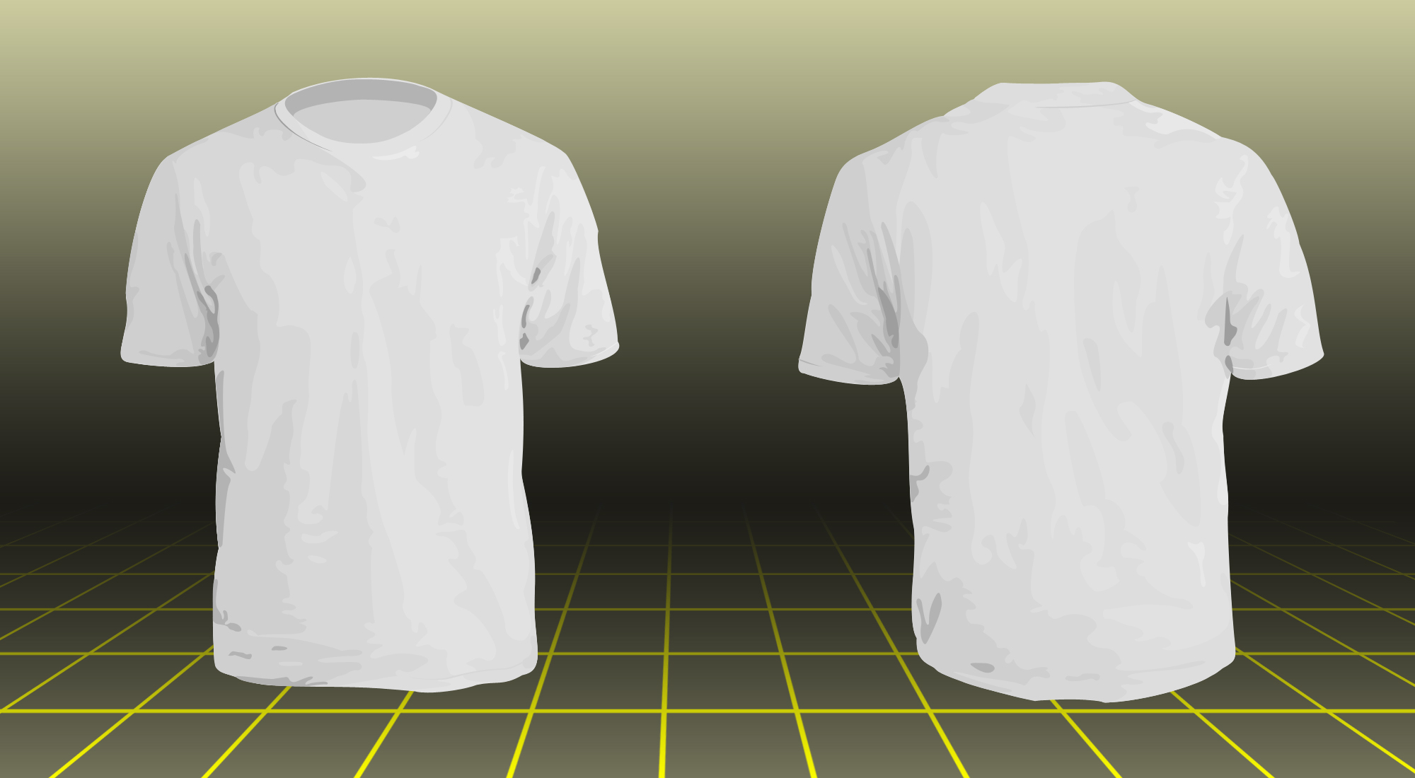 T-Shirt Design Template Models