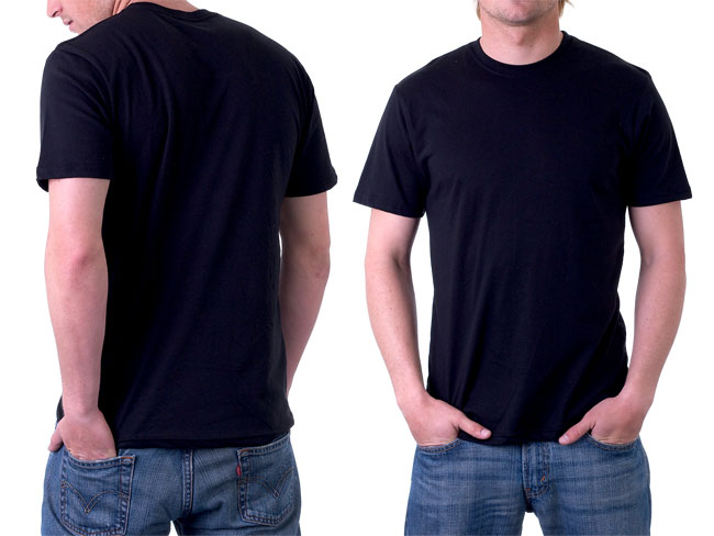 19 T Shirt Template Photoshop Free Download Images Free