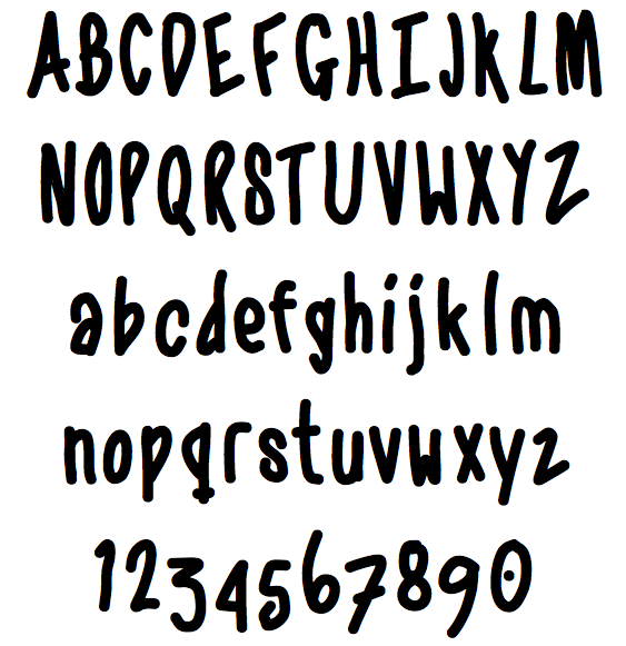 Tattoo Handwriting Font