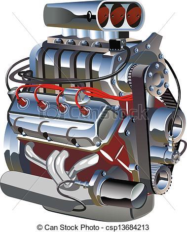 Turbo Engine Clip Art