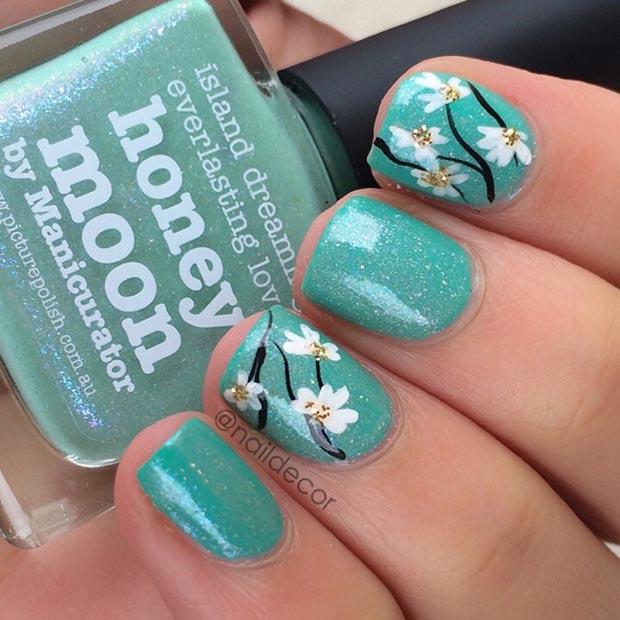 Ногти дизайн 2017 весна короткие