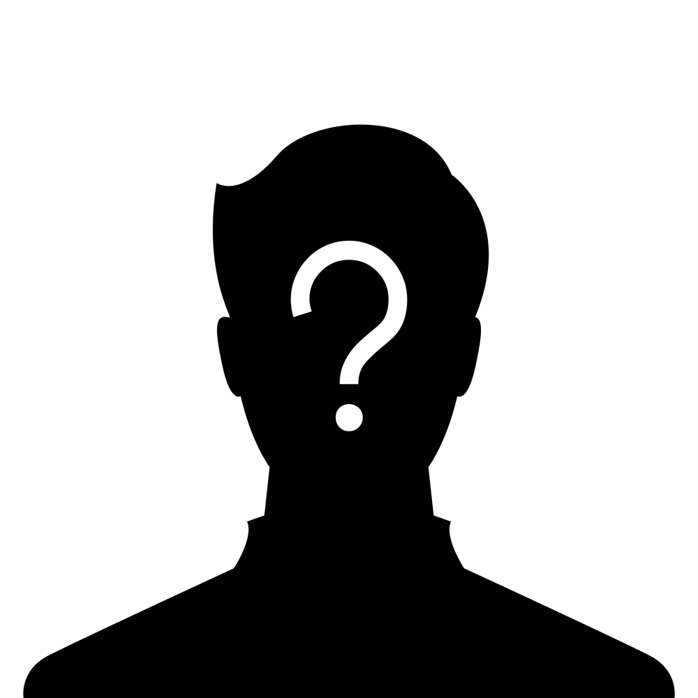 8 Unknown Person Icon Images