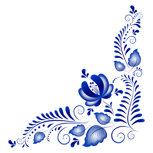 17 Flower Vector Ornaments Images