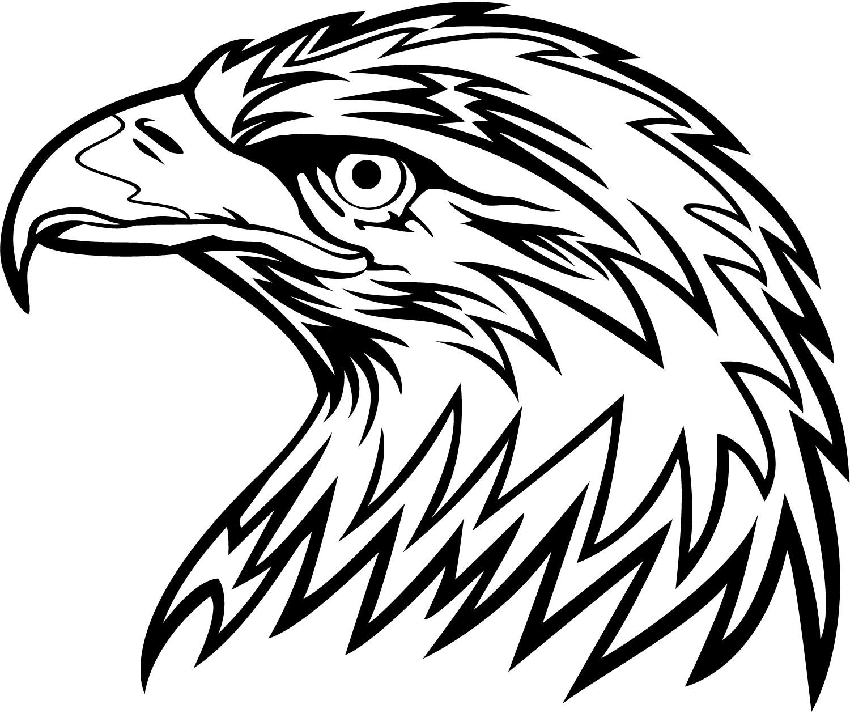 Vector Eagle Head Clip Art