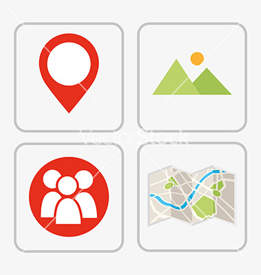 Vector Navigation Icons