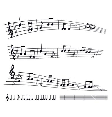 17 Sheet Music Vector Art Images