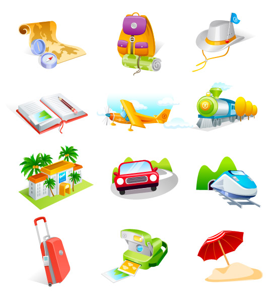 16 Travel Vector Graphic Images