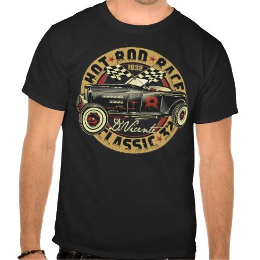 Vintage Hot Rod Shirts