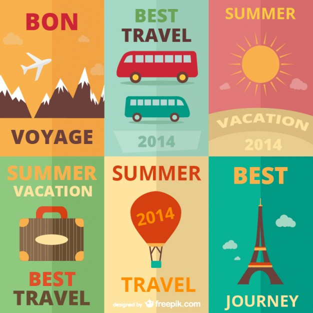 Vintage Travel Graphics