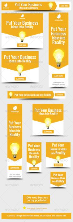 Web Banners Design Ideas