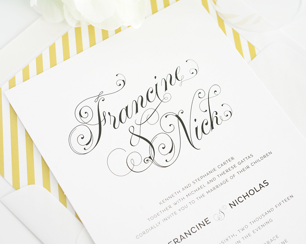 12 Script Fonts For Wedding Invitations Images - Wedding Invitations ...