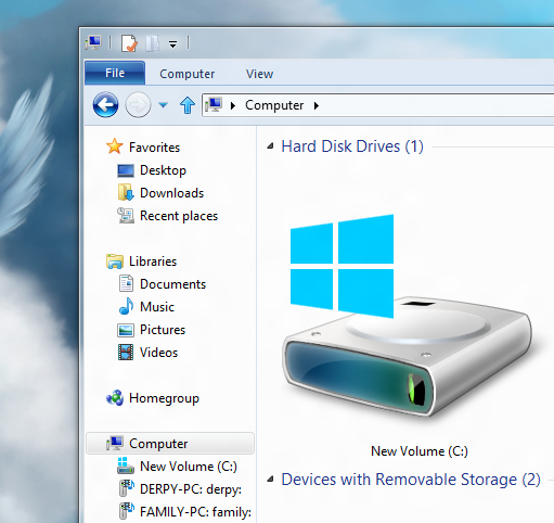 10 Windows Drive Icon Images