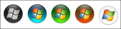Windows Vista Transparent Logo