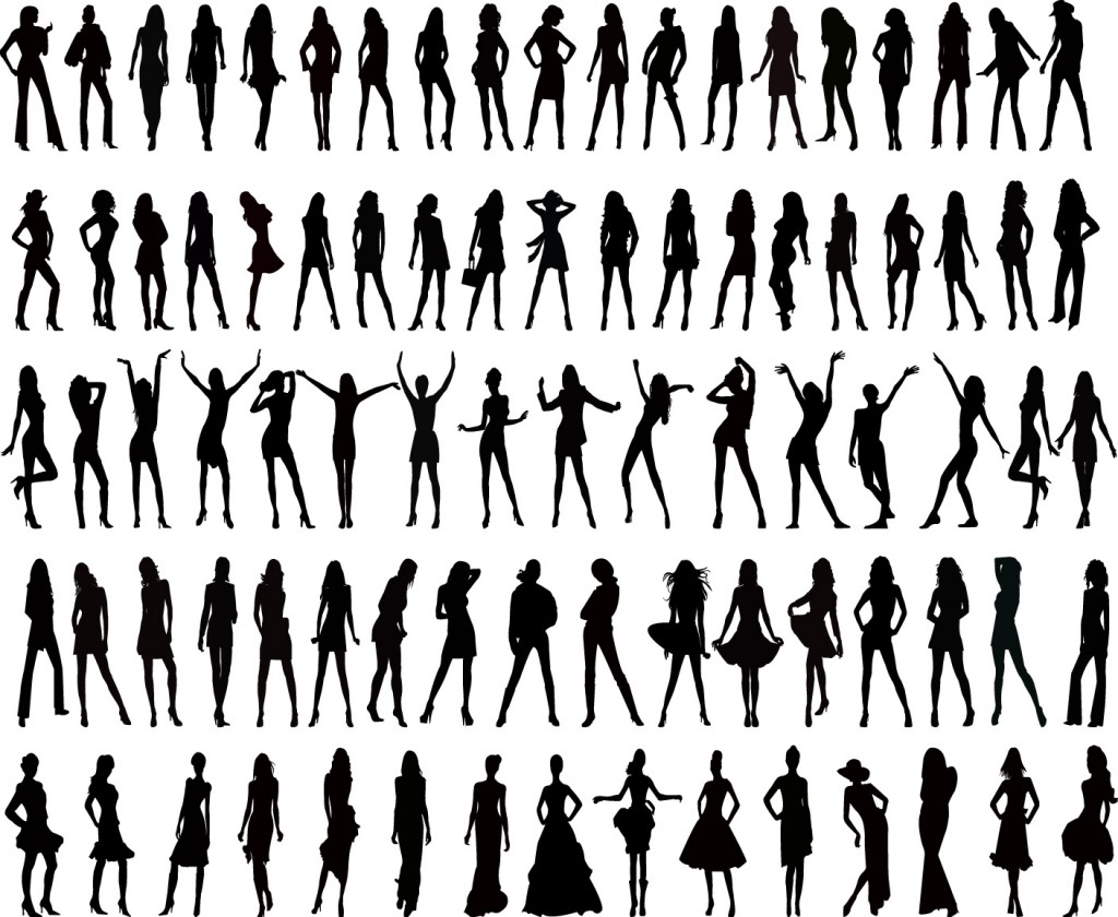 Woman Silhouette Vector Free