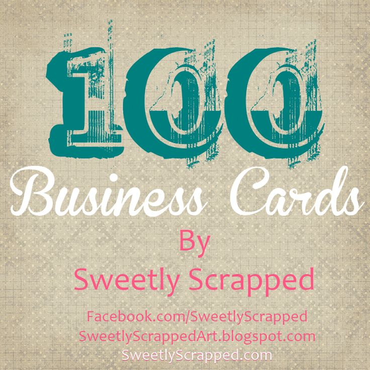 100 Free Printable Business Cards