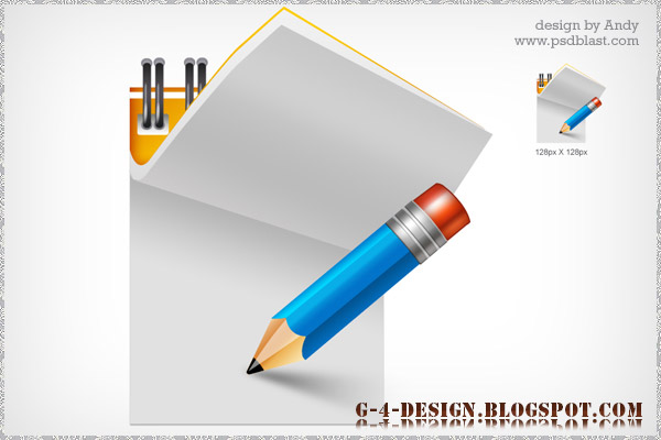 13 Note Pad PSD Images
