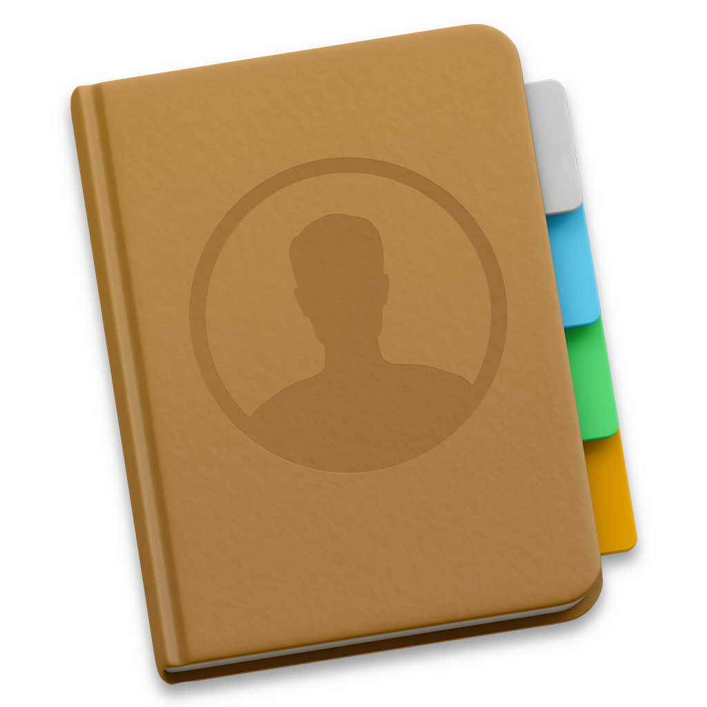 Apple Contacts Icon