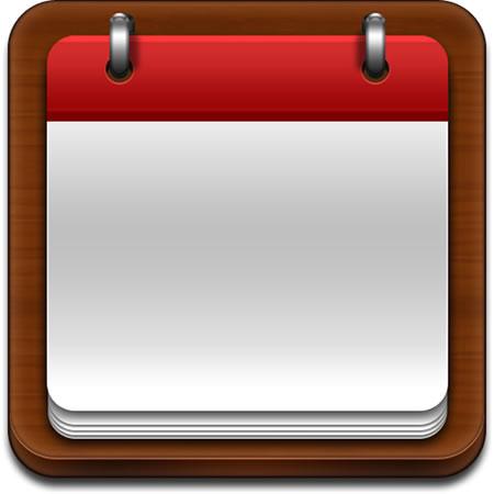 Blank Calendar Icon