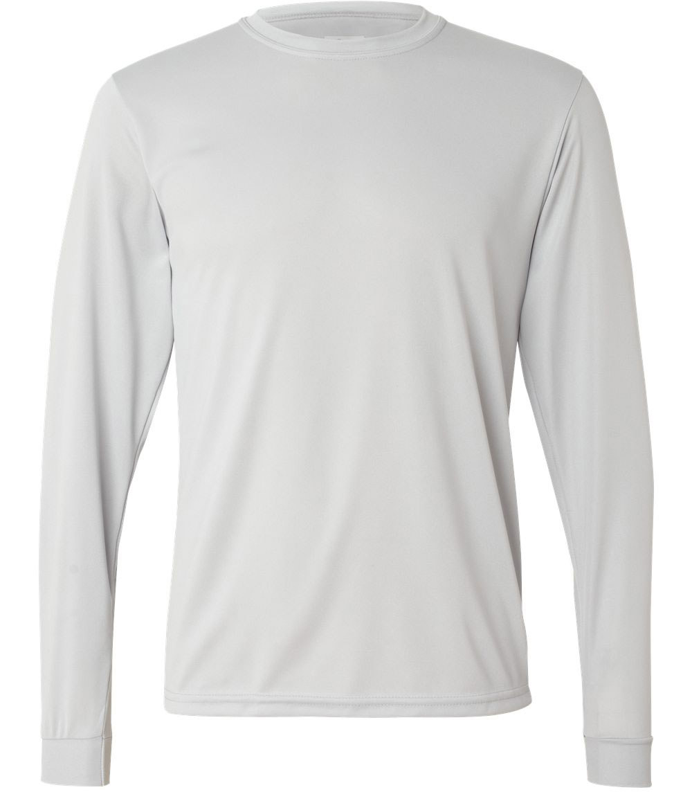 Blank Long Sleeve T-Shirt Template