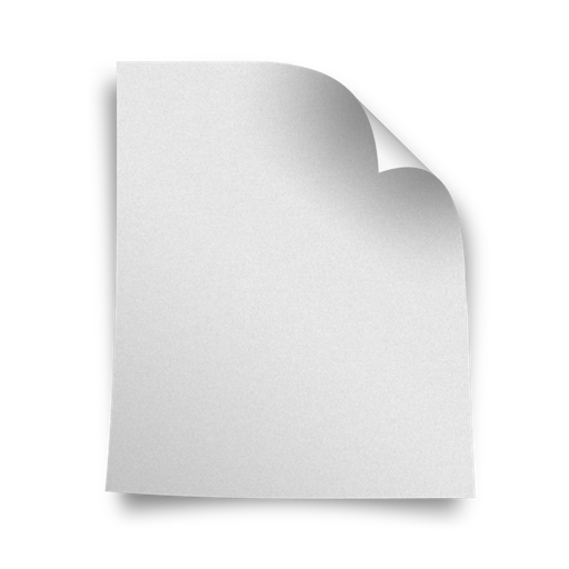 Blank Page Icon
