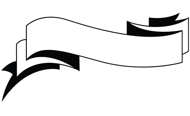 Blank Ribbon Banner Vector