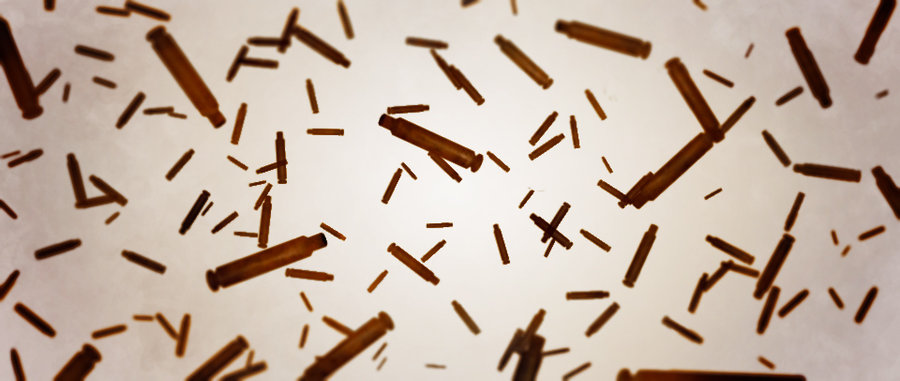 8 Flying Bullets PSD Images