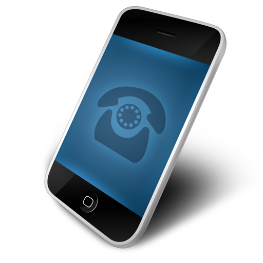 Cell Phone Contact Icon