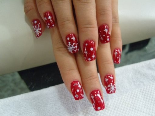 14 Christmas Nail Art Designs Gallery Images