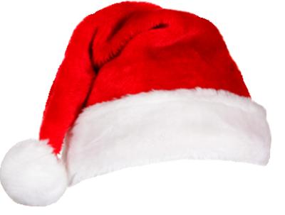 Christmas Santa Hat Transparent
