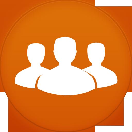 Contact Circle Icon