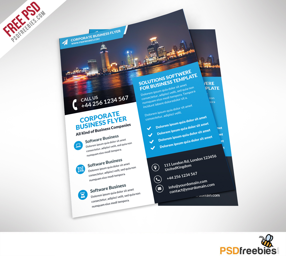 Corporate Business Flyer Free