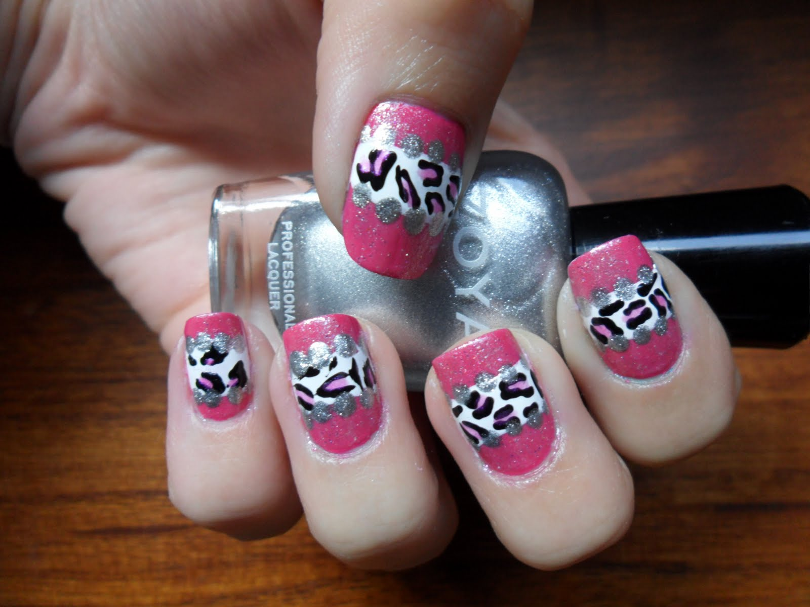 Crazy Nail Designs Pink