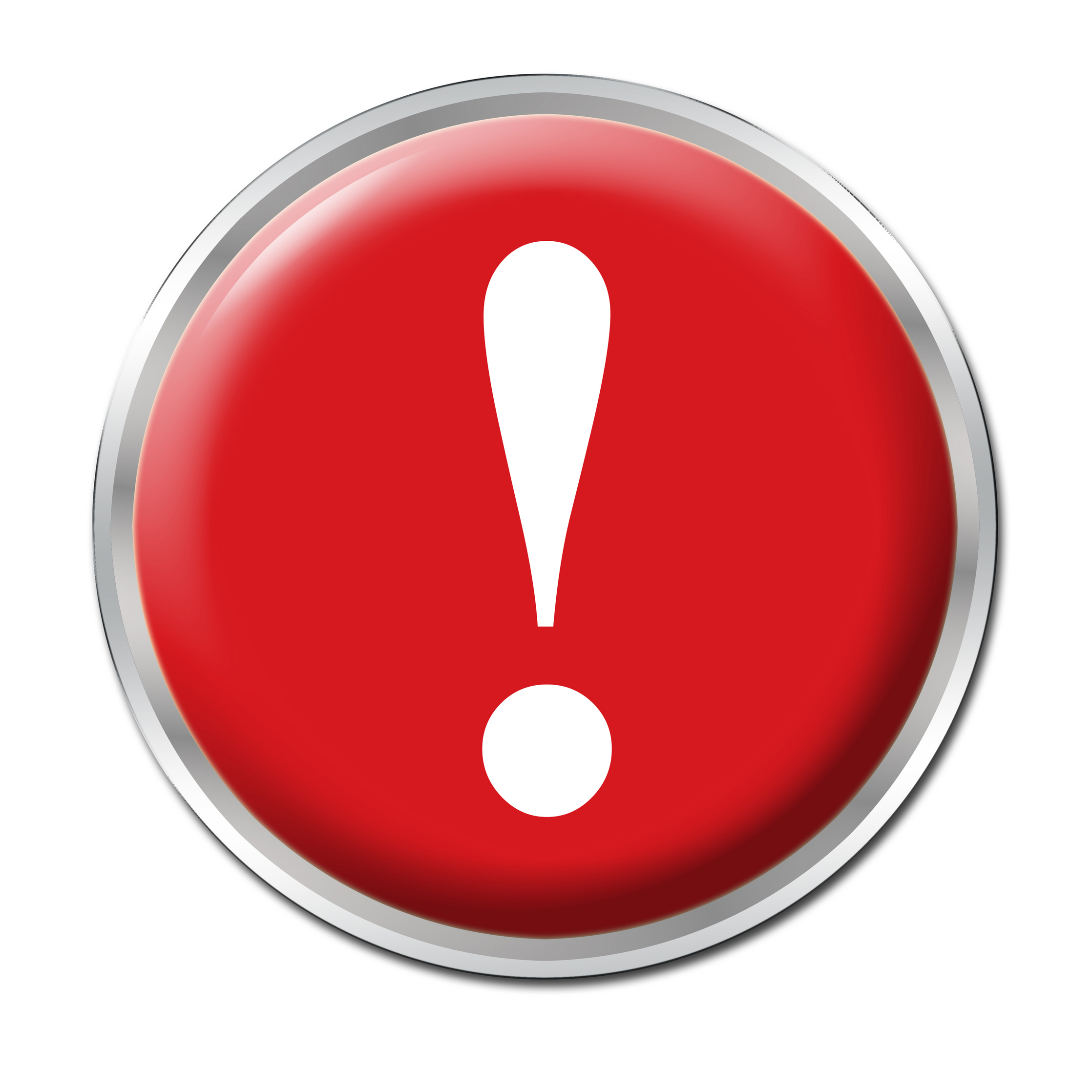 16 Panic Button Icon Images