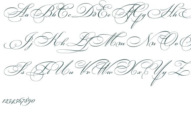 Fancy Cursive Tattoo Fonts Generator