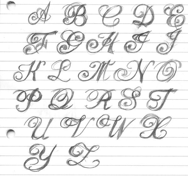 11 Fancy Writing Fonts Images Fancy Fonts Alphabet Letters Fancy